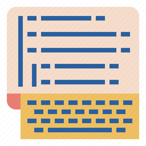 desktop, developer, keyboard, programming, web icon