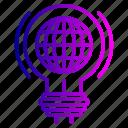 bulb, gear, idea, imagination, innovation, internet, light icon
