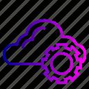 cloud, marketing, options, preferences, settings, web icon