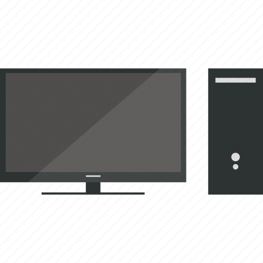 computer, desktop, pc, windows icon