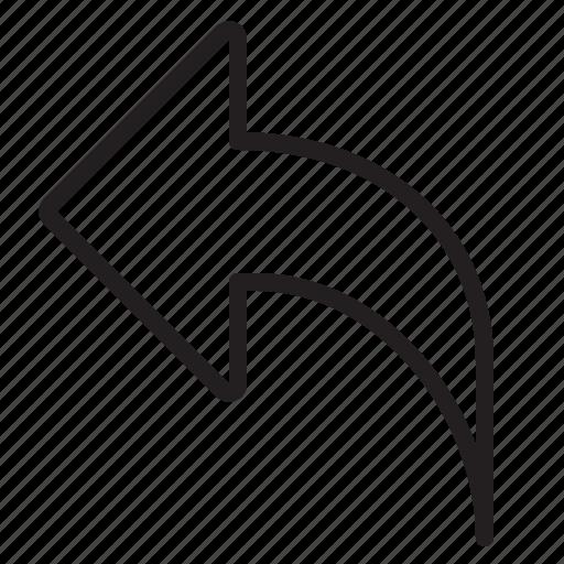 arrow, design, essential, modern, web icon