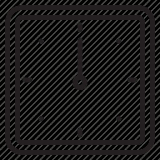 clock, design, essential, modern, time, web icon