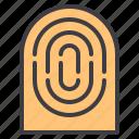 design, essential, finger, modern, print, web icon