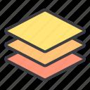 design, essential, layer, modern, web icon