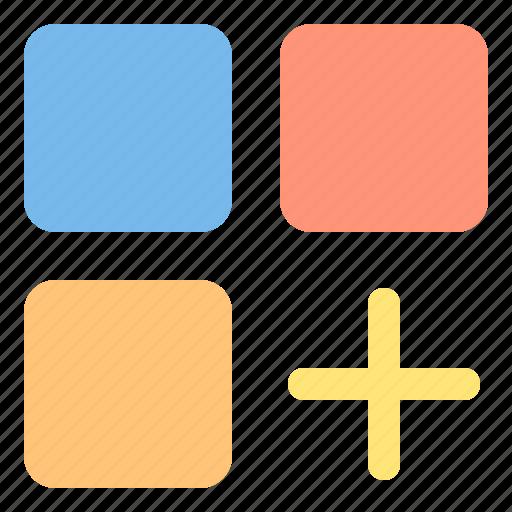 add, design, essential, modern, web icon