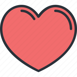 favorite, heart, like, medical, organ, web icon