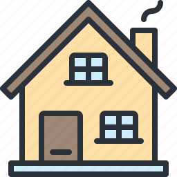 building, construction, home, house, web icon
