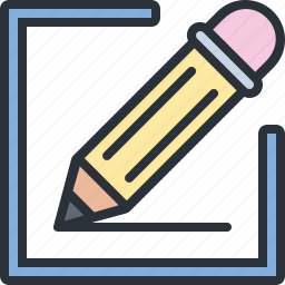 design, drawing, edit, pen, pencil, write icon