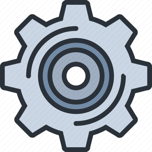 adjustments, cog, gear, settings, web icon