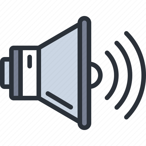 audio, multimedia, sound, speaker, volume icon