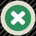 cancel, close, cross, remove icon icon