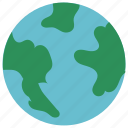 earth, green, planet, save icon icon