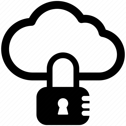 cloud computing security, cloud data lock, cloud network security, cloud security, cyber security icon
