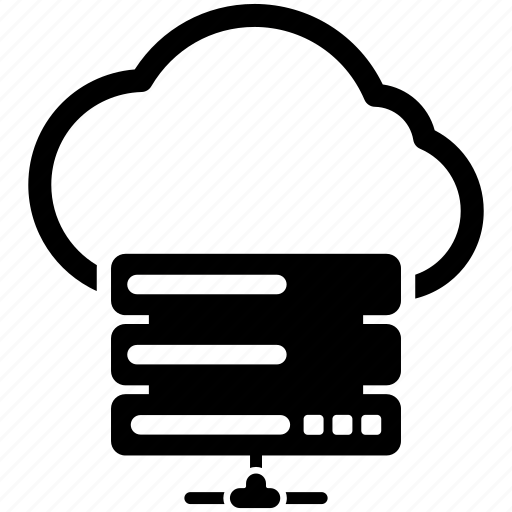 cloud data platform, cloud network server, cloud server, cloud storage, online data storage icon