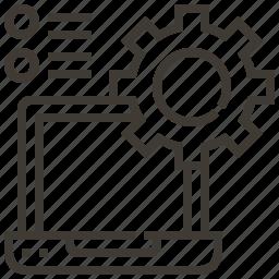 configuration, gear, options, technology, web, web hosting icon