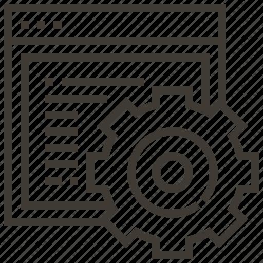 configuration, options, settings, technology, web, web hosting icon