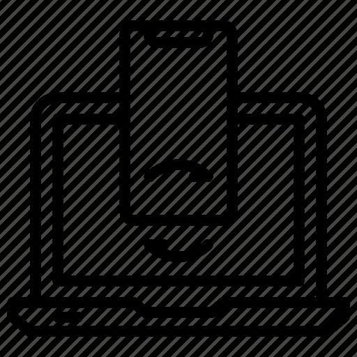 database, synchronization, web hosting icon