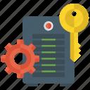 data maintenance, data settings, database administrator, database maintenance, database protection icon