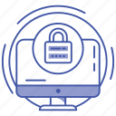 computer security, cyber security, data protection, information security, internet security icon