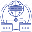 domain forwarding, domain network, search bar, world wide web, www icon