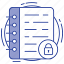 data encryption, data security, file protection, folder security, information security icon