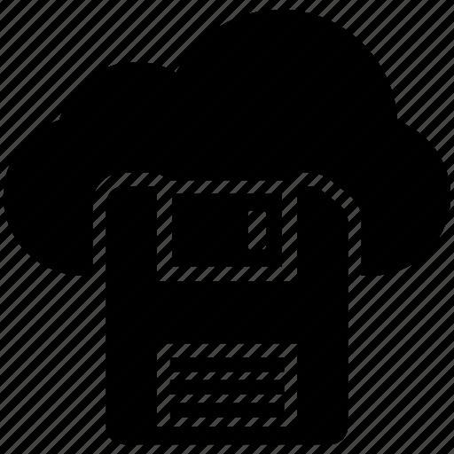 cloud backup, cloud drive, cloud storage, data backup, data restore icon