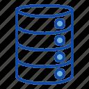 database, server, storage, data, cloud