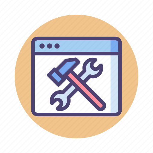 maintenance, optimization, seo, tool icon