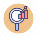 analysis, analytics, performance, seo icon