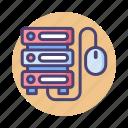 control, database, hosting, server