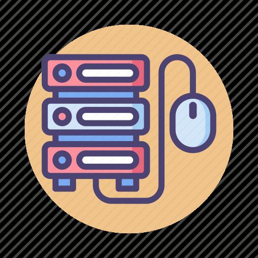 Control, database, hosting, server icon - Download on Iconfinder