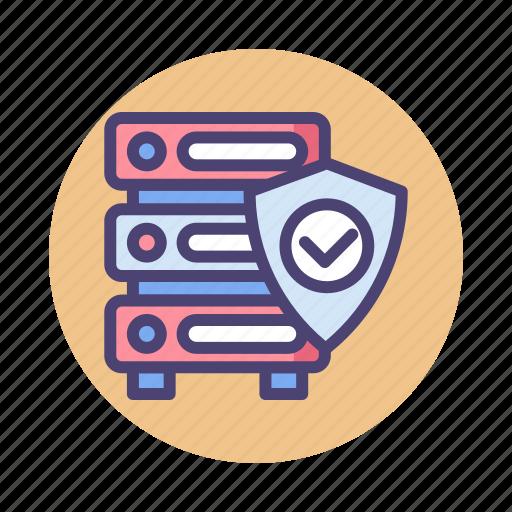 Database, hosting, protection, server icon - Download on Iconfinder