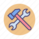 technical, tools icon