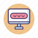 url, website, www icon