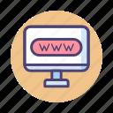 url, website, www