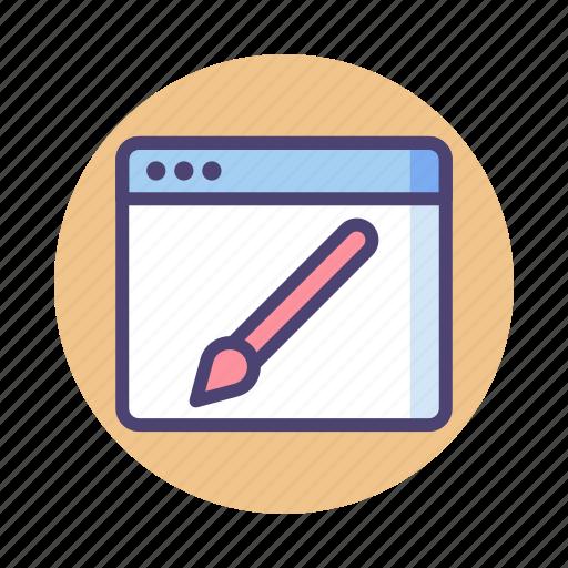 design, web, web design icon