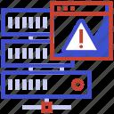 http error, internet server error, page not found concept, server error, website error icon