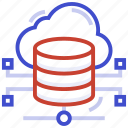 connection, database, internet, network, server icon