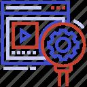 broken pattern, incomplete data pattern, interrupted data pattern, missing data information, missing data pattern icon