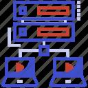 data file transfer, data sharing, data transformation, data transmission, information data loading icon