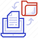 data exchange, data sharing, data transfer, file transmission, web data transfer icon