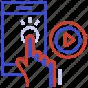 click installer, fast install, installing applications, one-click app, one-click install icon