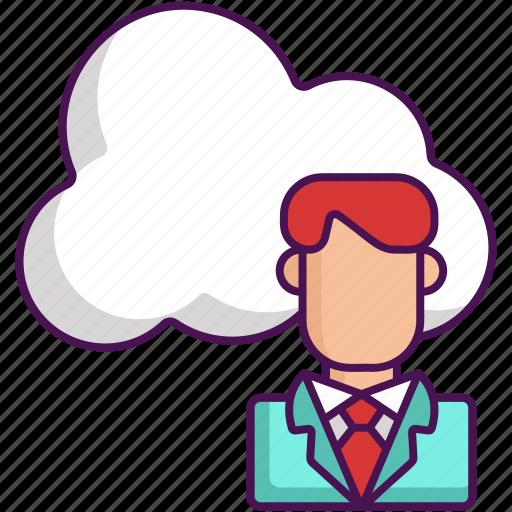 Client, cloud, cloud client, cloud computing icon - Download on Iconfinder