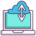 cloud storage, download, upload icon
