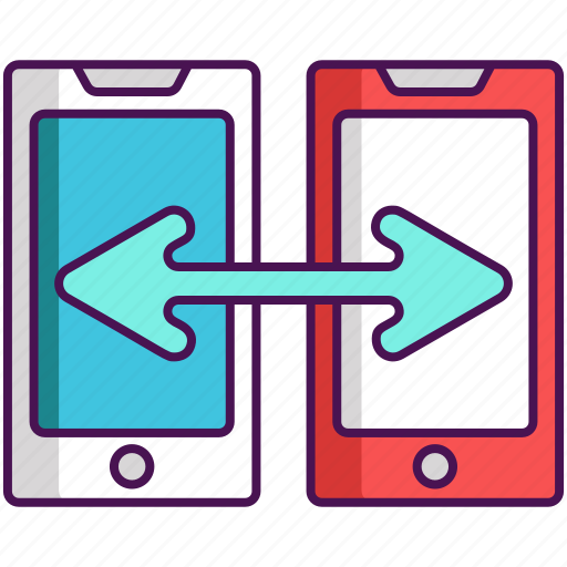 Data, transfer, data migration icon - Download on Iconfinder