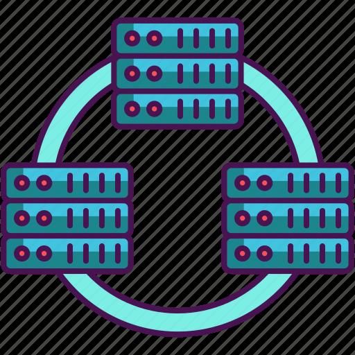 Database, network, database network icon - Download on Iconfinder