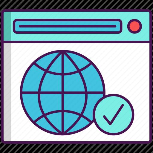 domain, domain registration, registration icon