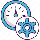 fast, fast processing, processing, processing speed icon