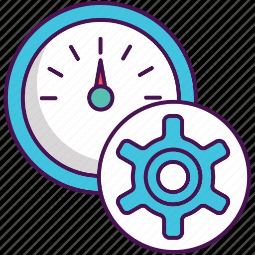fast, fast processing, processing, processing speed icon
