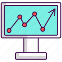 analysis, analytics, increase, increase traffic, traffic icon